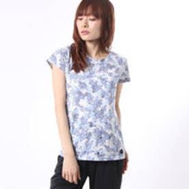 キスマーク kissmark レディース 半袖Tシャツ KM-9A427 フラワー