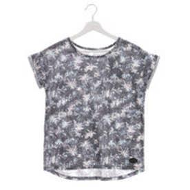 キスマーク kissmark レディース 半袖Tシャツ KM-9A517パームツリー