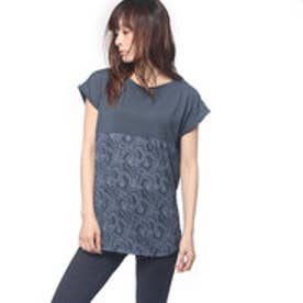キスマーク kissmark レディース フィットネス 半袖Tシャツ KM-3I617 キリカエ