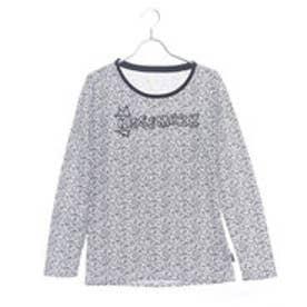 キスマーク kissmark レディース 長袖Tシャツ KM-9A607 ソウガラ (ホワイト)