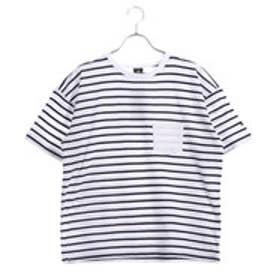 キスマーク kissmark レディース 半袖Tシャツ KM-9A458 POCKET