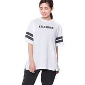 キスマーク kissmark レディース 半袖Tシャツ KM-9A518 KMKM
