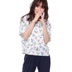 キスマーク kissmark レディース 半袖Tシャツ KM-9A528 ソウガラ