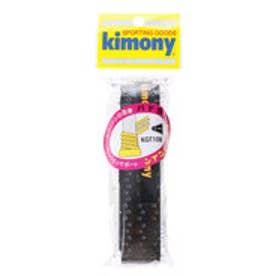 キモニー kimony バドミントンアクセサリー アナスパツイン KGT108 BK ブラック (ブラック)