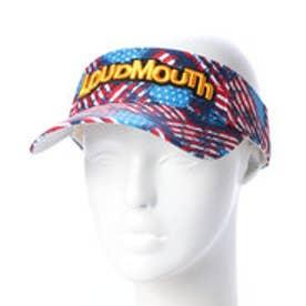 ラウドマウス Loudmouth ゴルフ サンバイザー サンバイザー 7789261 (レッド)