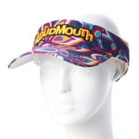 ラウドマウス Loudmouth ゴルフ サンバイザー サンバイザー 778926 (パープル)