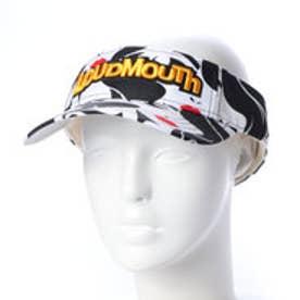 ラウドマウス Loudmouth ゴルフ サンバイザー サンバイザー 778926 (ブラック)