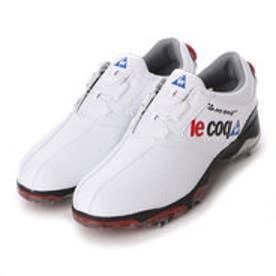 ルコックスポルティフ le coq sportif メンズ ゴルフ ダイヤル式スパイクシューズ QQ0595 QQ0595 804