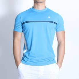 ルコックスポルティフ le coq sportif テニスTシャツ ハンソデシヤツ QT-010161 ブルー (アス゛ールフ゛ルー)