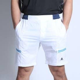 ルコックスポルティフ le coq sportif テニスパンツ ゲ-ムパンツ QT-370161 ホワイト (ホワイト)
