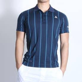 ルコックスポルティフ le coq sportif テニスポロシャツ ハンソデポロシヤツ QT-710161 ネイビー (ネイビー)