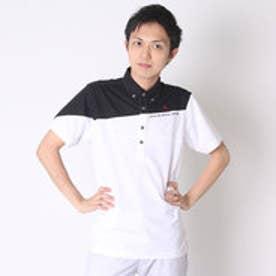 ルコックスポルティフ le coq sportif ゴルフシャツ 半袖シヤツ(ニツト) QG2966 (ホワイト)