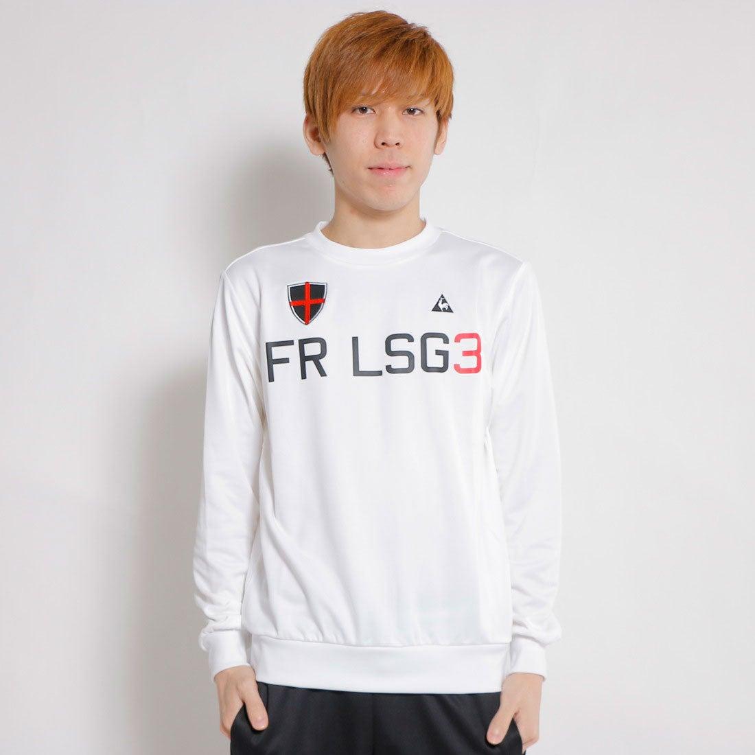 【SALE 53%OFF】ルコックスポルティフ le coq sportif ゴルフトレーナー カツトソー(長袖) QG4714 (ホワイト) メンズ