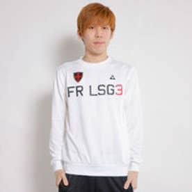 ルコックスポルティフ le coq sportif ゴルフトレーナー カツトソー(長袖) QG4714 (ホワイト)