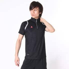 【アウトレット】ルコックスポルティフ le coq sportif ゴルフシャツ 半袖シヤツ(ニツト) QG2965 (ブラック)