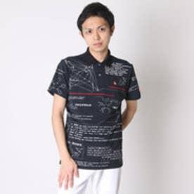 ルコックスポルティフ le coq sportif ゴルフシャツ 半袖シヤツ(ニツト) QG2969 (ブラック)