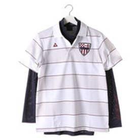ルコックスポルティフ le coq sportif メンズ ゴルフ セットシャツ QG1047CP