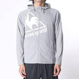 ルコックスポルティフ le coq sportif メンズ ライフスタイル アウターウェア 長袖シャツジャケット QB-510163 (グレー)