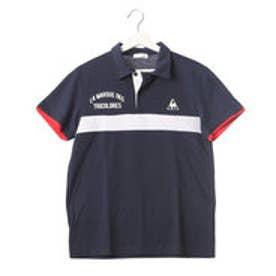ルコックスポルティフ LE COQ SPORTIF メンズ 半袖ポロシャツ エリツキ半袖シャツ QB-732171A