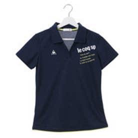 ルコックスポルティフ LE COQ SPORTIF レディース 半袖ポロシャツ スキッパーシャツ QB-719171T