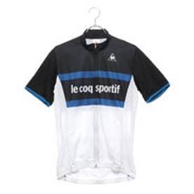 ルコックスポルティフ le coq sportif メンズ バイシクル サイクルジャージ ジャケット ショートスリーブジャージ QCMLGA46