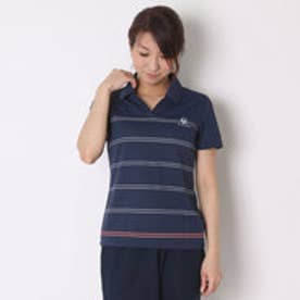 ルコックスポルティフ LE COQ SPORTIF レディース 半袖ポロシャツ 襟付き半袖シャツ QB-715361