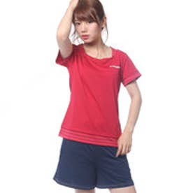 ルコックスポルティフ le coq sportif レディース テニス 半袖Tシャツ 半袖シャツ QT-015373