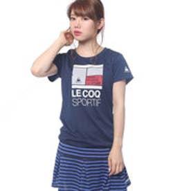 ルコックスポルティフ le coq sportif レディース テニス 半袖Tシャツ 半袖シャツ QT-015773
