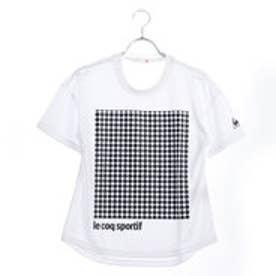 ルコックスポルティフ LE COQ SPORTIF レディース 半袖機能Tシャツ 半袖シャツ QMWLJA09