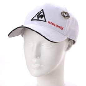 ルコックゴルフ le coq GOLF メンズ ゴルフ キャップ クリップマーカー付きメッシュCAP QG0266