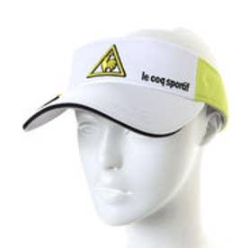 ルコックゴルフ le coq GOLF メンズ ゴルフ サンバイザー 帽子 QG0267
