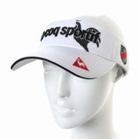 ルコックゴルフ le coq GOLF メンズ ゴルフ サンバイザー 帽子 QGBLJC59AP
