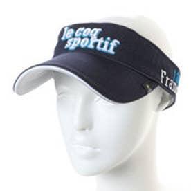 ルコックゴルフ le coq GOLF メンズ ゴルフ サンバイザー 帽子 QGBLJC52