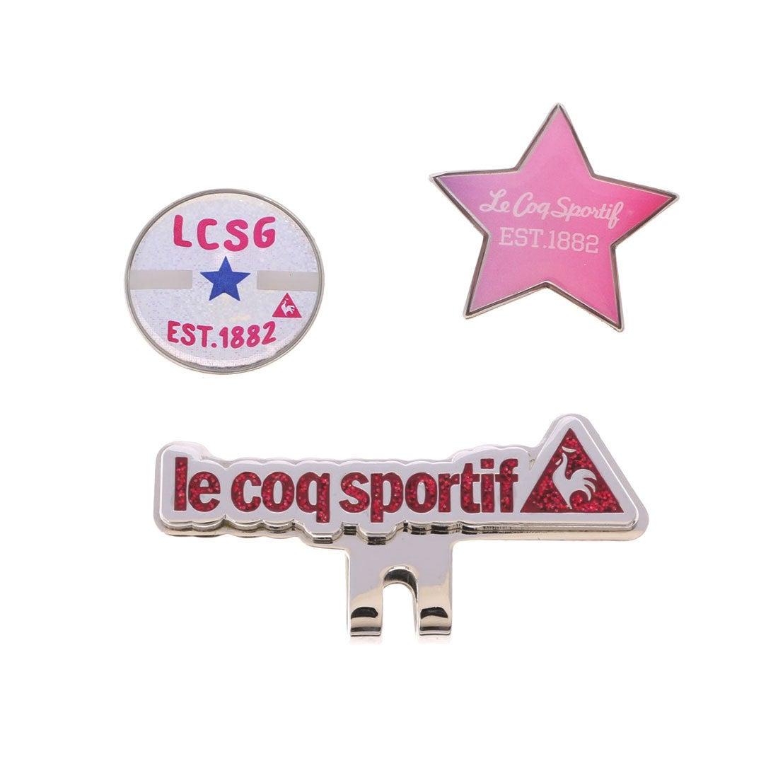 ルコックゴルフ le coq GOLF レディース ゴルフ マーカー クリツプマーカー QQL0963