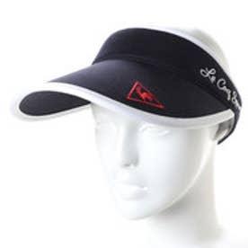 ルコックゴルフ le coq GOLF レディース ゴルフ サンバイザー 帽子 QGCLJC62AP