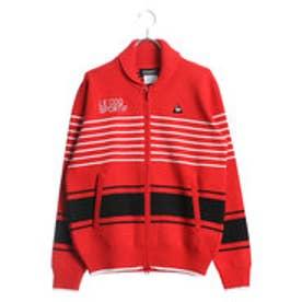 ルコックゴルフ le coq GOLF メンズ ゴルフ 長袖セーター フルジップセーター QG4217