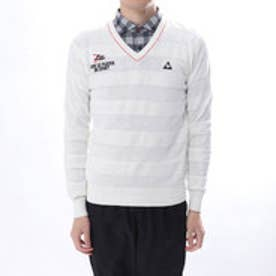 ルコックゴルフ le coq GOLF メンズ ゴルフ 長袖 セーター セーター カーディガン QGMLJL04