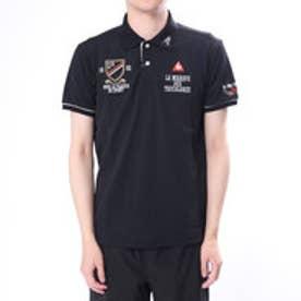 ルコックゴルフ le coq GOLF メンズ ゴルフ 半袖  シャツ ニットQGMLJA10