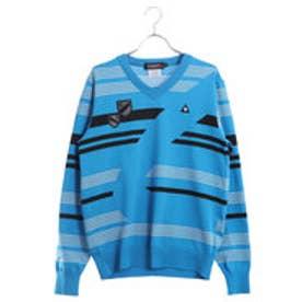 ルコックゴルフ le coq GOLF メンズ ゴルフ 長袖 セーター セーター カーディガン QGMLJL02