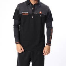 ルコックゴルフ le coq GOLF メンズ ゴルフ セットシャツ 半袖シャツ(セット) QGMMJA03W