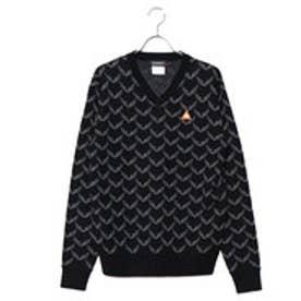 ルコックゴルフ le coq GOLF メンズ ゴルフ 長袖セーター セーター QGMMJL02