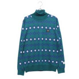 ルコックゴルフ le coq GOLF メンズ ゴルフ 長袖セーター セーター QGMMJL12AP