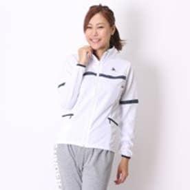 【アウトレット】ルコックゴルフ le coq GOLF トレーニングウェア ウォームアップジャケット QB-555153 ホワイト (ホワイトWH)