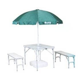 ロゴス LOGOS キャンプ テーブル アルクリーンテーブルパラソルセット 73160139