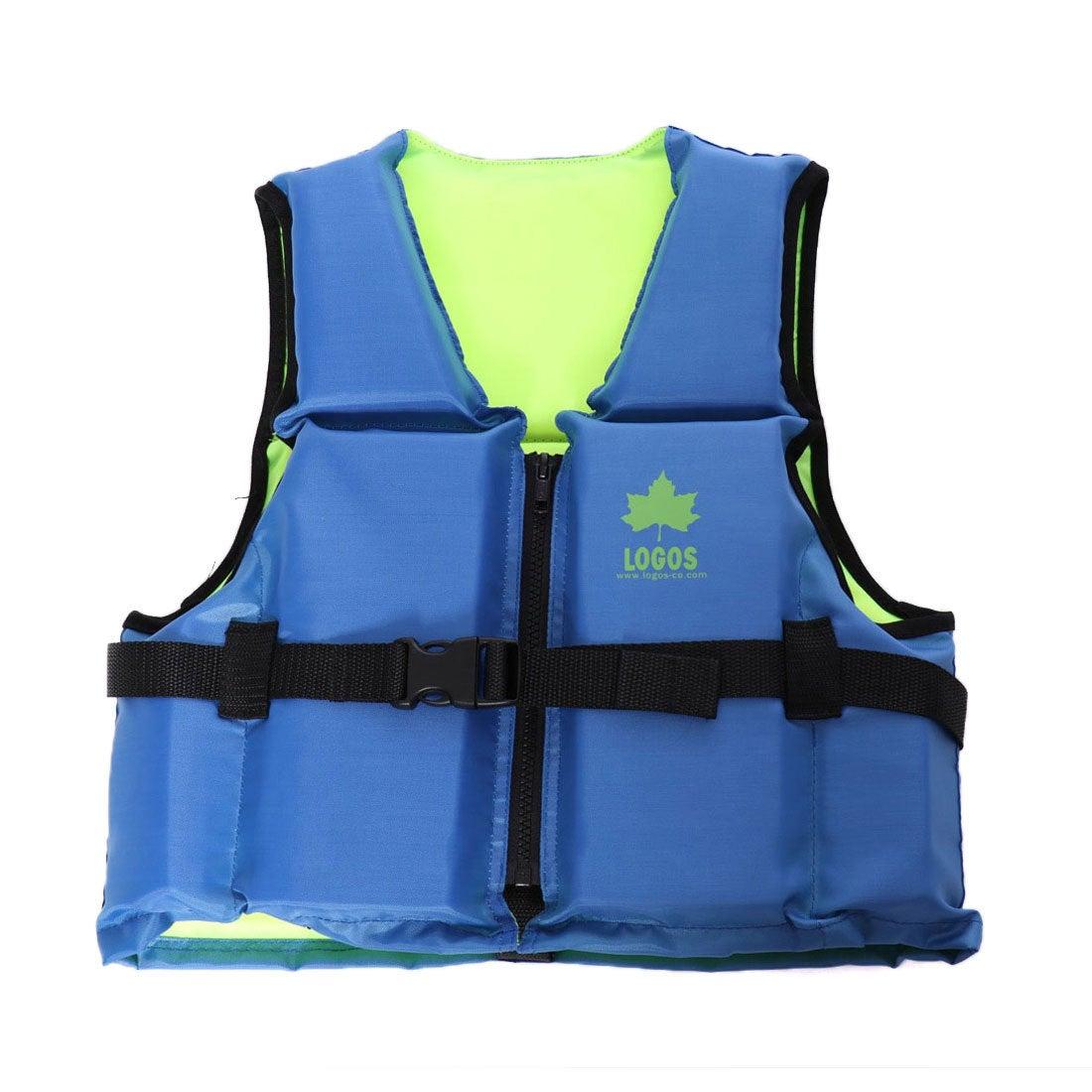 ロゴス LOGOS マリン ライフジャケット フローティングベスト子供用75(ブルー) 66812100