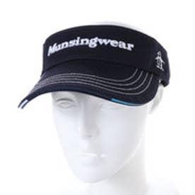 マンシングウエア Munsingwear メンズ ゴルフ サンバイザー 帽子 JAMK350 1801