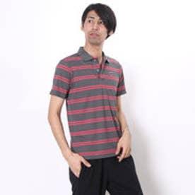 マンシングウェア Munsingwear ゴルフシャツ 半袖シヤツ(ニツト) RM1596 (グレー)