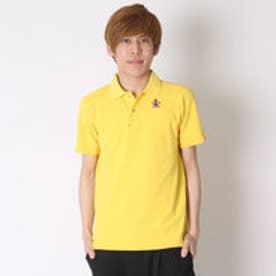マンシングウェア Munsingwear ゴルフシャツ 半袖シヤツ(ニツト) RM1579 (イエロー)