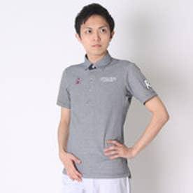 【アウトレット】マンシングウェア Munsingwear ゴルフシャツ 半袖シヤツ(ニツト) RM1580 (ネイビー)