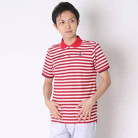 【アウトレット】マンシングウェア Munsingwear ゴルフシャツ 半袖シヤツ(ニツト) RM1581 (レッド)
